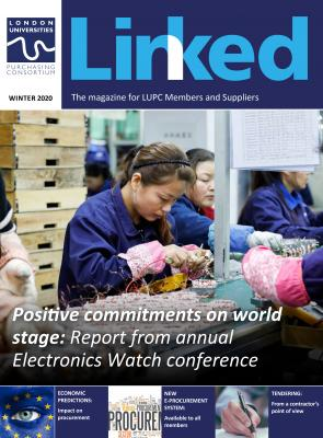 Winter edition of LINKED magazine