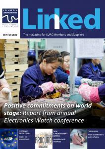 Winter edition of LINKED magazine